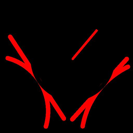 R Symbol 2 Tangenten und Radius